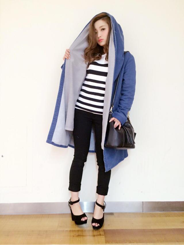 かなやんBlog♡新作  denim coat
