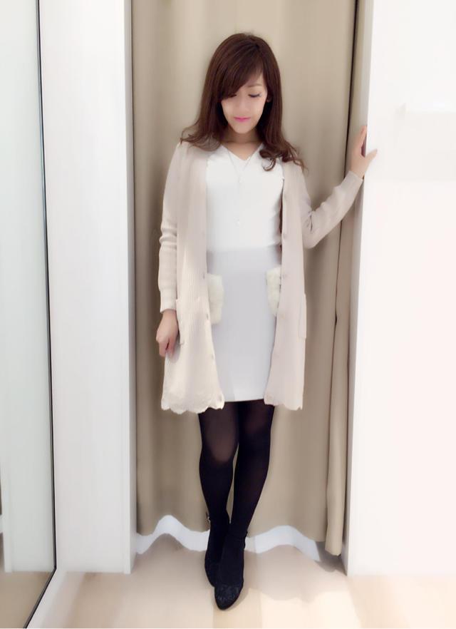 裾がポイント♫新作ロングカーデ♡konno